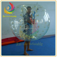 best pvc cheap inflatable bumper bubble ball, inflatable toy balls for sale