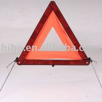 Auto Safety Warning Triangle Sign