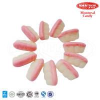 Layer fruit gummy jelly candies