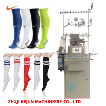 Computerized Terry &Plain Football Socks Knitting Machine automatic