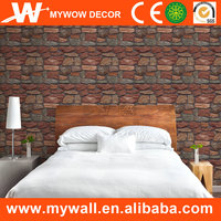Interior Decorative Bamboo 3D Wall Paper 3D Bamboo Wallpaper for Home Decoration Service