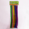 Factory supply DIY crafts 0.6*30cm pipe cleaners chenille stems toys for kids or wedding party decoration