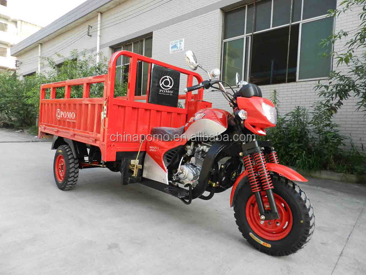 Competitive Low Oil Consumption 3 Big Wheels Water Tricycle Bike, Led Motorcycle Wheel Light, Jinling Trike