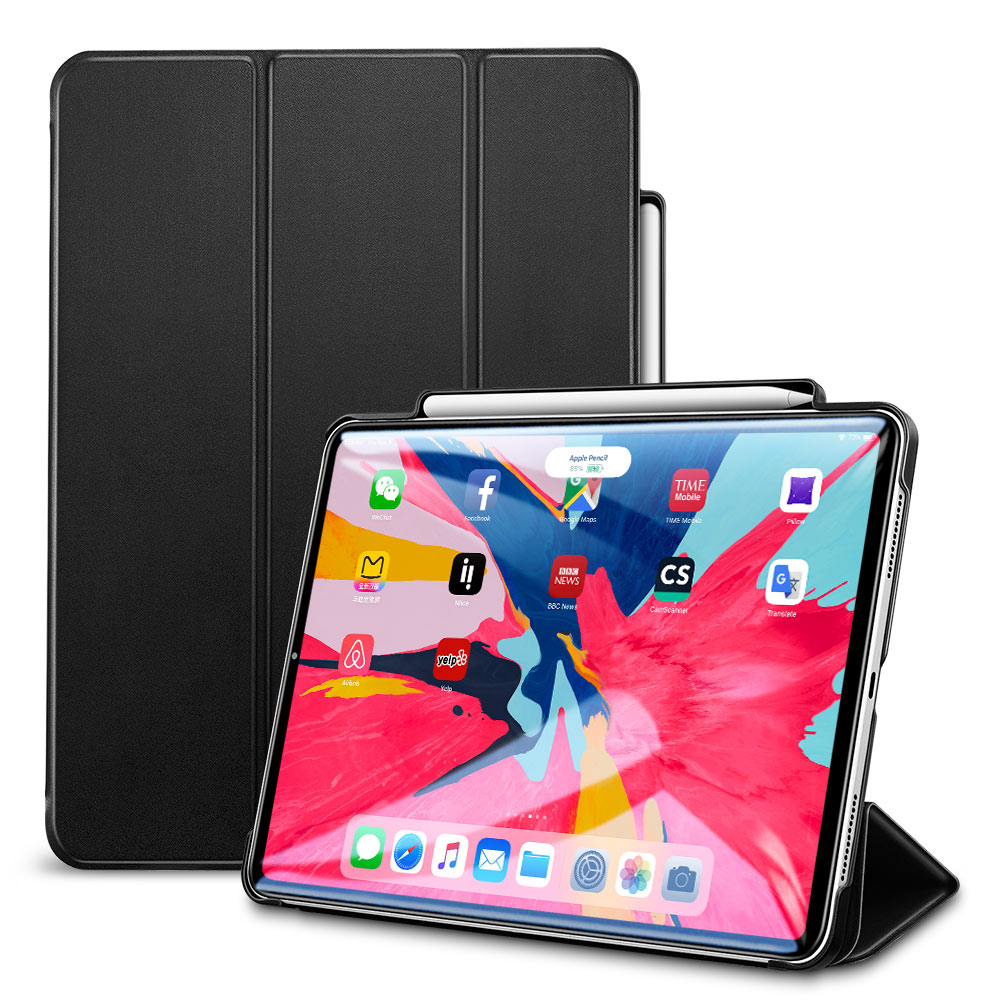ESR New Arrival for <strong>iPad</strong> pro 11inch With Pencil-Side Holder Tablet Pc Protective Tablet Case Cover