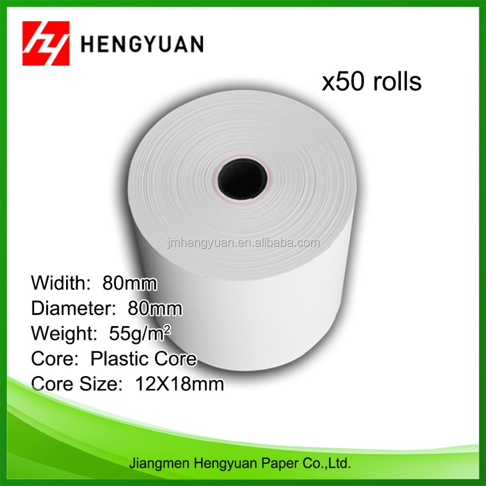 2016 Most Hot Sale 80mm Thermal Cash Till Roll