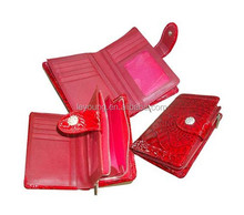 High Quality Smooth Leather Women Magic Wallet with Card Holder