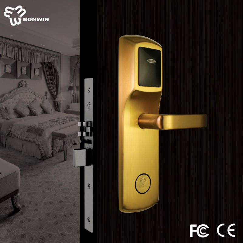 Low voltage alarm electric door lock with timer from china supplier