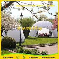 Giant outdoor inflatable dome event tent,inflatable party tent trade show tent for sale