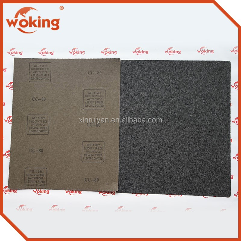 Wet Dry Sandpaper For Automotive Sanding