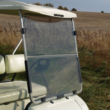 popular clear explosion proofing acrylic golf cart windshield for Yamaha G22