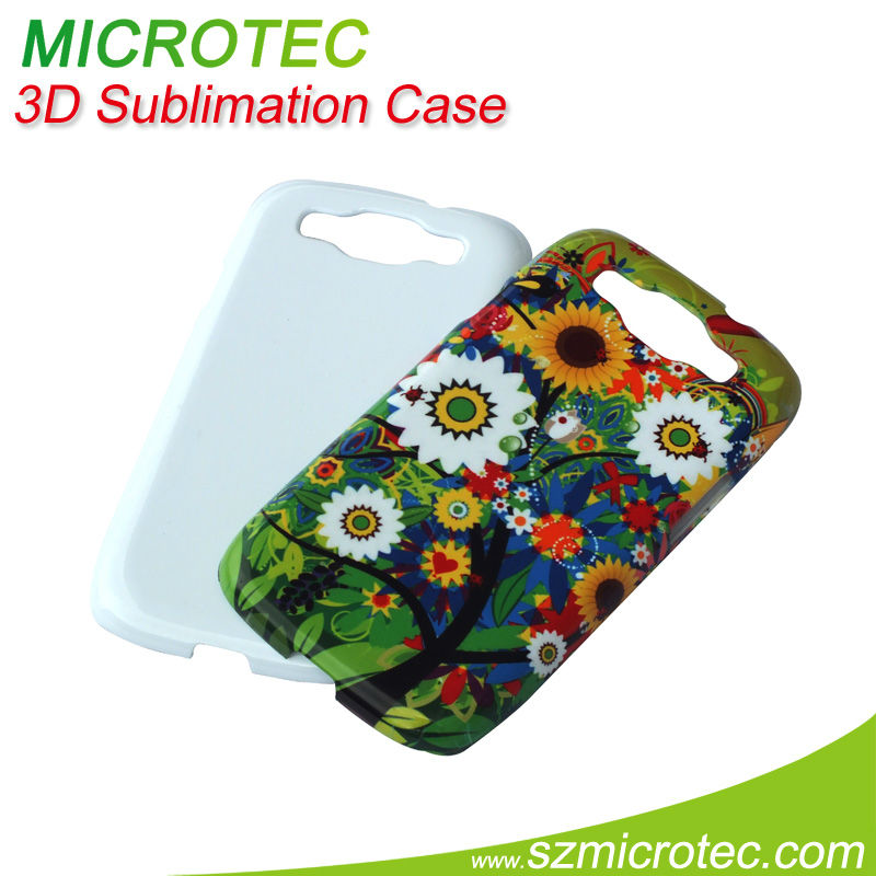 3D Sublimation case for Samsung Galaxy S3 i9300