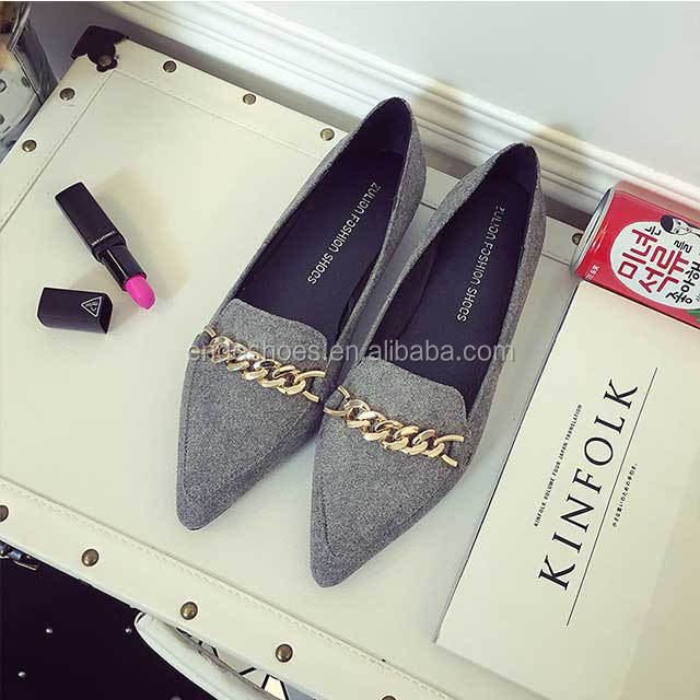 fashion ladies flat shoes wedding low heel evening shoes for women