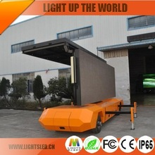 Full Color Mobile P8 Led Outdoor Display Screen Advertising Trailer From China Supplier