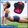 Small Cloth Zipper Bags With Two Pokcets, Fashion Compact Design Sport Cell Phone Pouch For Iphone 6/6 plus
