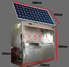 Stainless Steel Direct Drinking Machine Hot and Cold Water Dispenser/ Cooler with Solar Powered