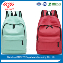 COQBV Manufactory cheap girls promotion school bag backpack bag