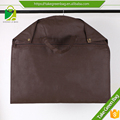 custom made Foldable single color Non Woven Clothes Garment Suit Zip Dust Cover