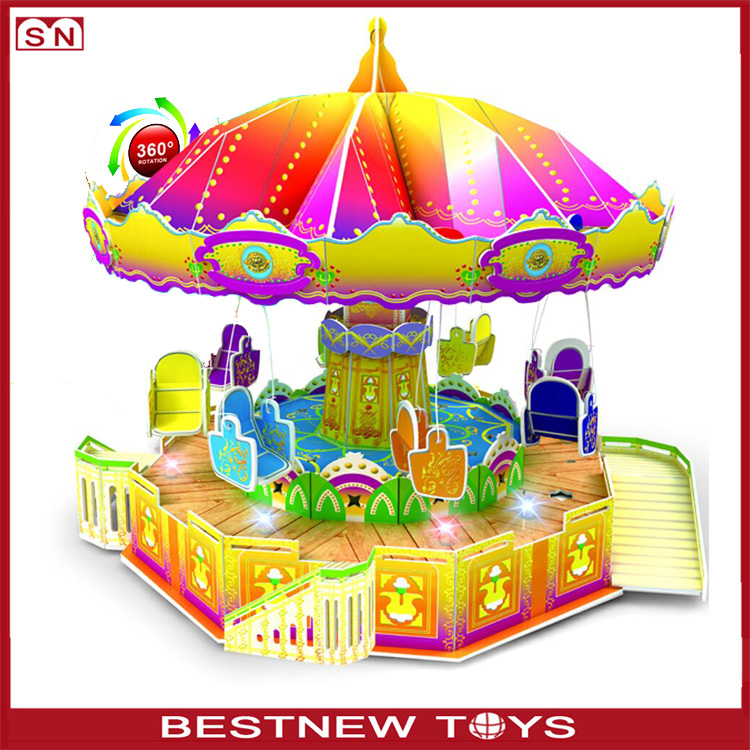 China toys battery operated 3d paper puzzle flying swing 3d puzzle for wholesale