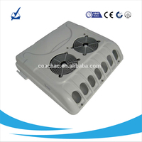 direct engine driven roof top mounted mini bus air conditioner