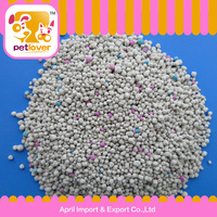 2016 new product strong glutinosity ball shape bentonite cat litter