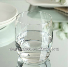 11ounce Oval Shaped Drinking Glass Cup
