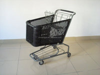 Plastic Shopping Trolley Cart