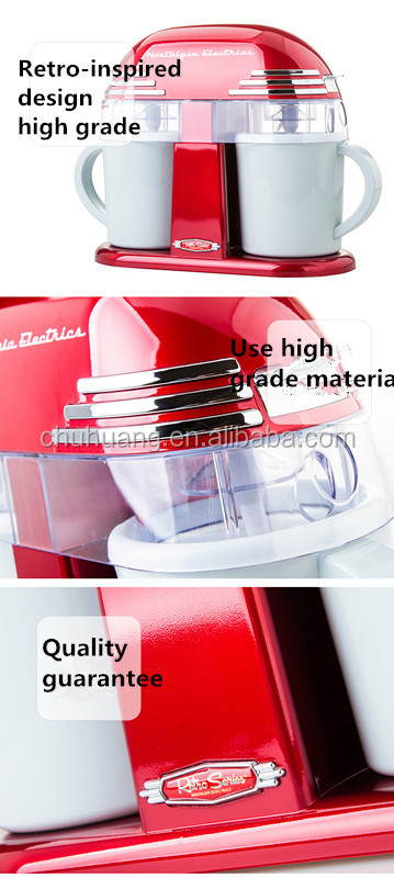 how to use lumina ice cream maker