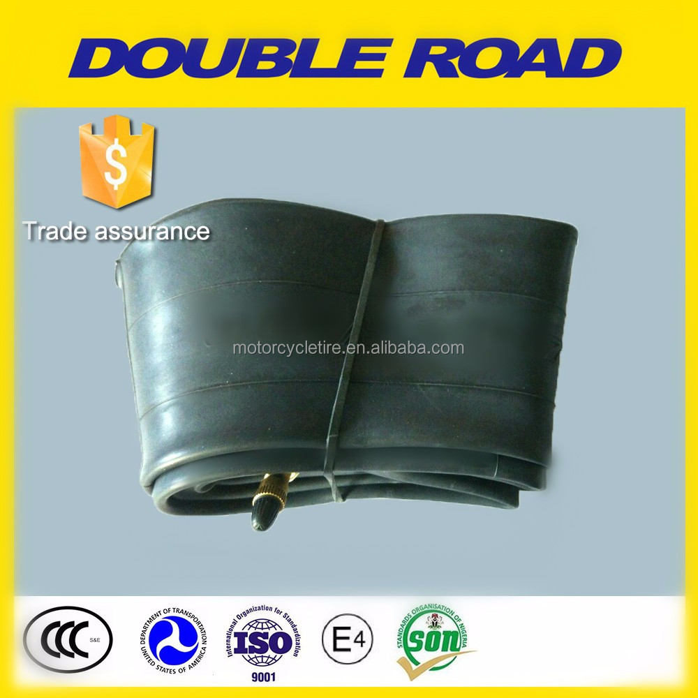 Wholesale china motorcycle tyre factory motorcyle butyl inner tube 250-17