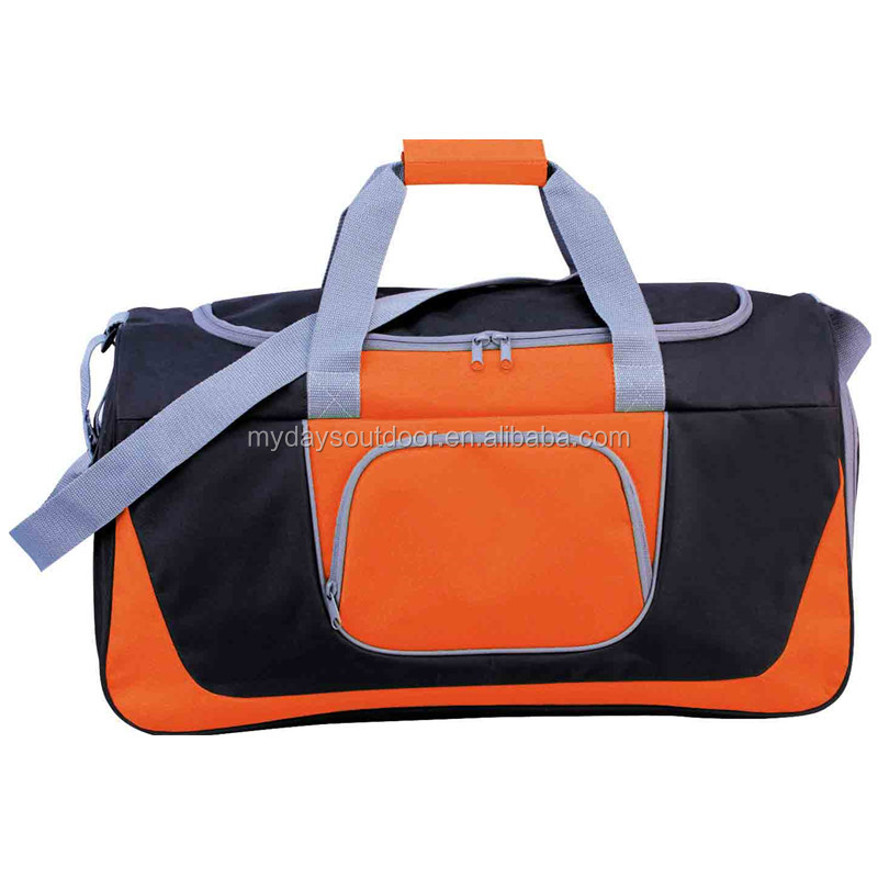 600D Polyester Durable Waterproof foldable travel duffel bag Travel Luggage Duffel Business Bag