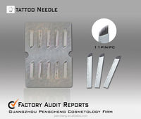 tattoo shading needles for eyebrow(11pins)