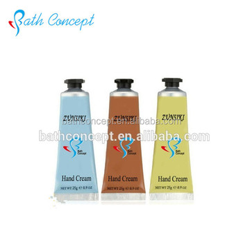 High quality organce fruit scent hand cream portable travelling hand cream