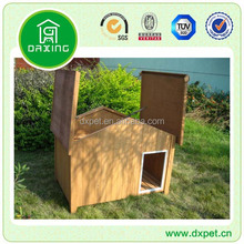 build dog kennel wood DXDH003