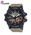 Hot sports watches for men classic quartz country style black watch
