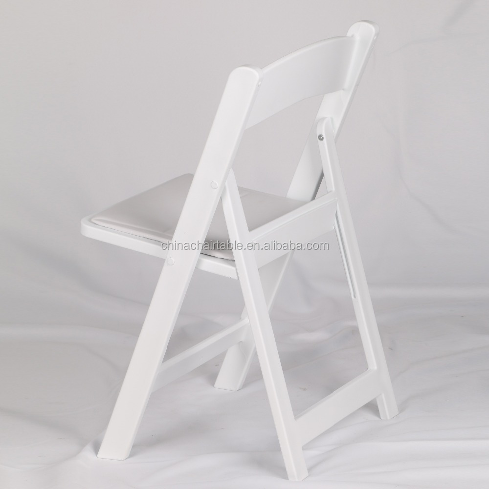 Wedding resin folding chair white wedding folding chair for sale