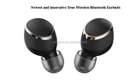 2017 new trending bluetooth headset stereo with strong bass