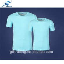 O-neck design unisex washed stretch cute couple shirt for lovers