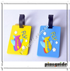 Promotional custom made soft pvc cheap baggage tag