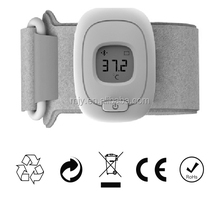 isee Wearable Health Monitor Wristband Bluetooth Smart Thermometer for Babies Children