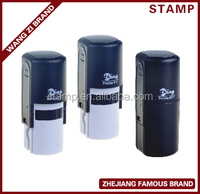 Hot selling with cheap price, DIA.17mm shiny seal stamp, self-inking stamp