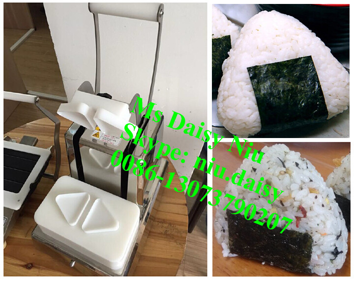 Hot Sell triangle rice roll maker machine/rice ball making machine/onigiri pressing machine