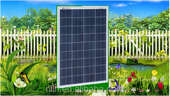 high quality low price elaborate process perfect service Chinese Ningbo Electronocs Co.,Ltd 18V 90W poly solar panel