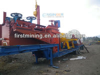 Flotation machine nickel ore