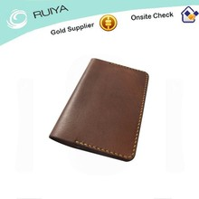 Oem service a4 classic pure handmade leather notebook cover