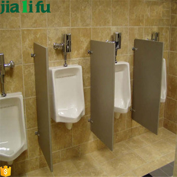 Cheap Hpl Wall Mounted Urinal Privacy Screen With Block