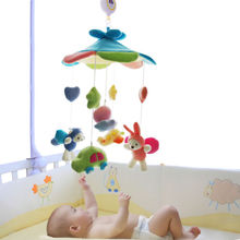 Baby Kid Children Crib Mobile Rotating Soft Plush Toy 60 Melodies Holder