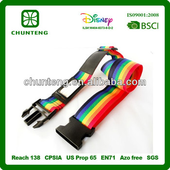 Fashion luggage belts/suitcase strap supplier