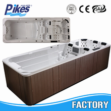 China manufacturers swimming pool OEM outdoor swim spa hot sale endless pool balboa spa 5 person balboa hot tub
