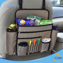 Classic Model Car Backseat Organizer with Multi Pockets