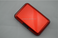 Hot selling, RFID Blocking Aluminum Credit Card Case RFID Wallet Waterproof