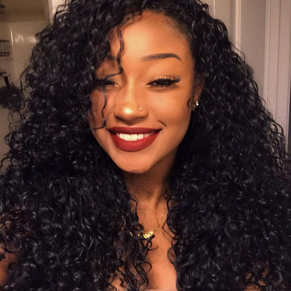2019 Can Be Dyed Cuticle Aligned Mongolian Human <strong>Hair</strong> Extention 100% Virgin Kinky Curly <strong>Hair</strong> For Black Women